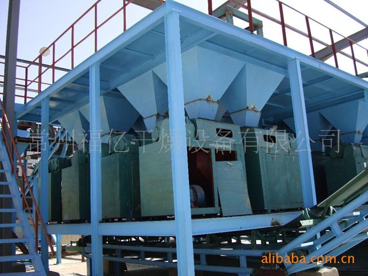 Granulated ammonium chloride production site