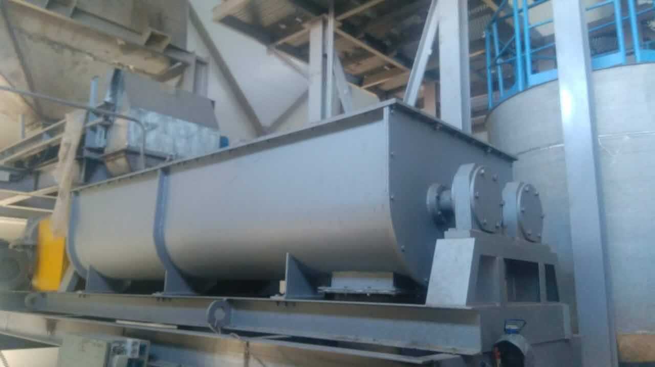 2SJ Series twin shaft mixer