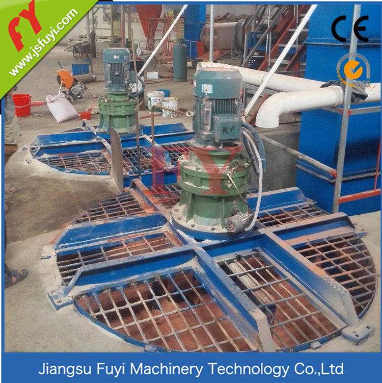 YBJ series disc mixing machine
